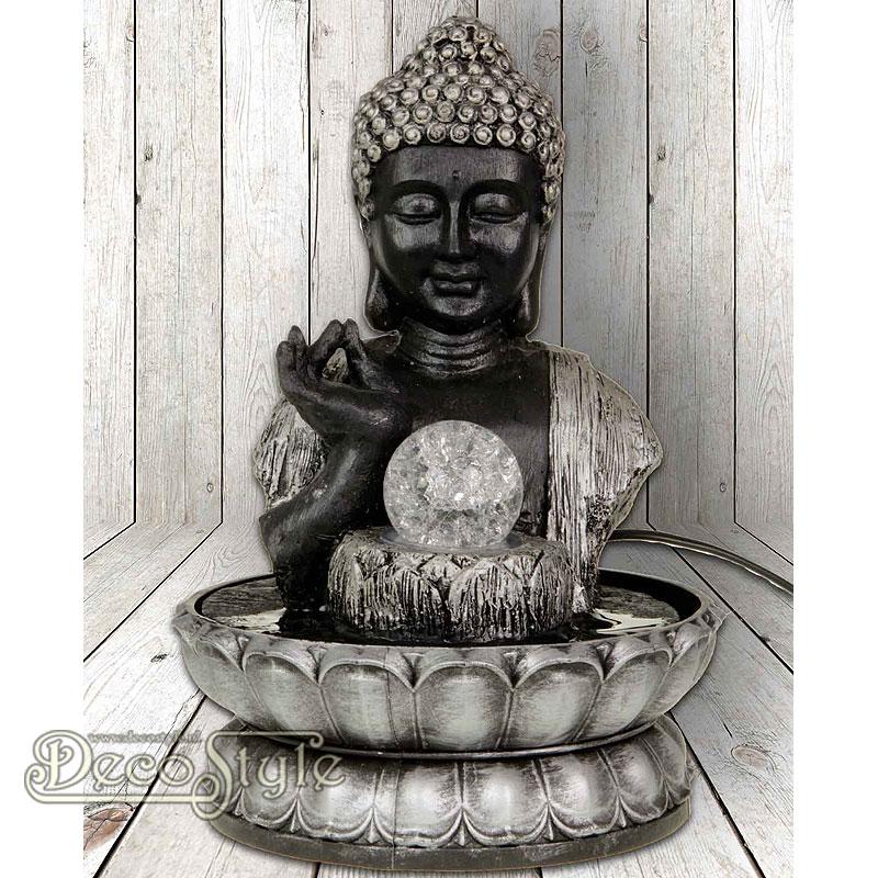 Boeddha Fontein Voor Buiten.Boeddha Fontein Glas Bal